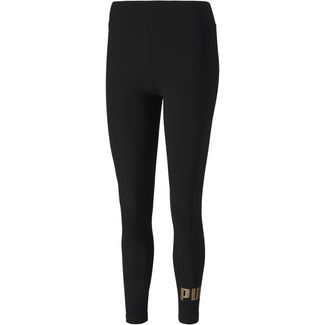 PUMA Essential Leggings Damen puma black-gold