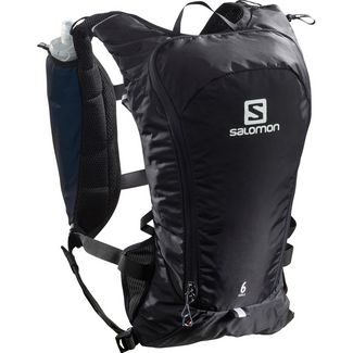 Salomon AGILE 6 SET-Black-- Trinkrucksack black