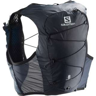 Salomon ACTIVE SKIN 8 SET-Ebony-Black- Trinkrucksack ebony-black