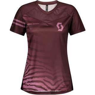 SCOTT Trail Vertic Pro s/sl Trikot Damen maroon red/cassis pink