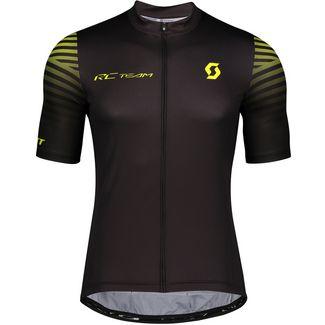 SCOTT RC Team 10 s/sl Fahrradtrikot Herren black/sulphur yellow