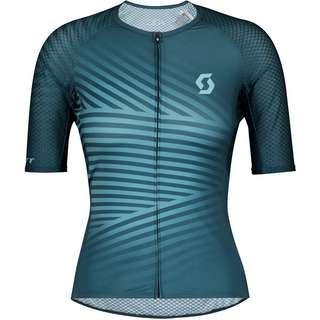SCOTT RC Premium Climber s(sl Fahrradtrikot Damen lunar blue/stream blue
