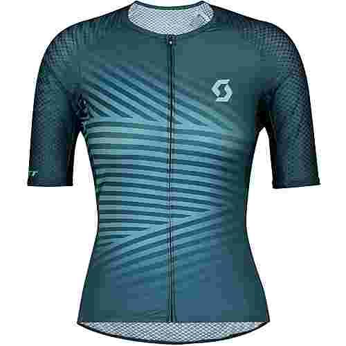 SCOTT RC Premium Climber s(sl Trikot Damen lunar blue/stream blue
