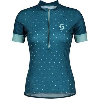 SCOTT Endurance 20 s/sl Fahrradtrikot Damen lunar blue/stream blue