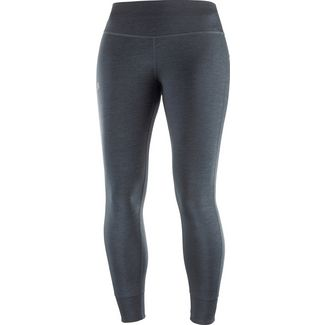 Salomon Comet Tech Tights Damen black ebony