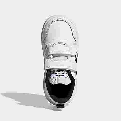adidas Tensaur Schuh Fitnessschuhe Kinder Cloud White / Core Black / Cloud White