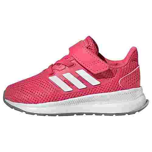 adidas Run Falcon Schuh Laufschuhe Kinder Real Pink / Cloud White / Grey Three