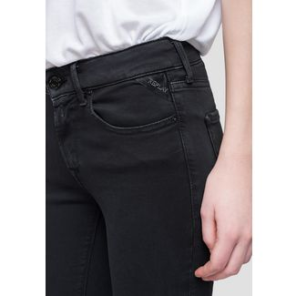 REPLAY NEW LUZ Straight Fit Jeans Damen schwarz