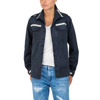 REPLAY mit Zierripsbändern Outdoorjacke Damen blue