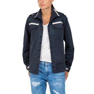 REPLAY mit Zierripsbändern Outdoorjacke Damen blue