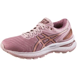 ASICS GEL-NIMBUS 22 Laufschuhe Damen watershed rose-rose-gold