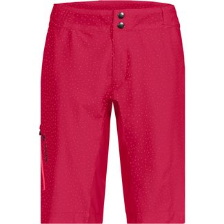 VAUDE Women´s Ligure Shorts Fahrradshorts Damen cranberry