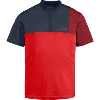 VAUDE Men's Tremalzo Shirt V Fahrradtrikot Herren mars red