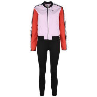 Reebok Training Essentials Meet You There Trainingsanzug Damen rosa / schwarz