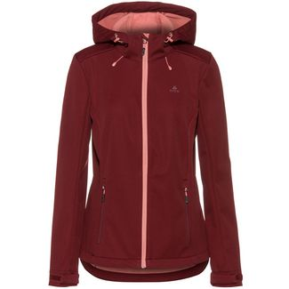 OCK Softshelljacke Damen bordeaux