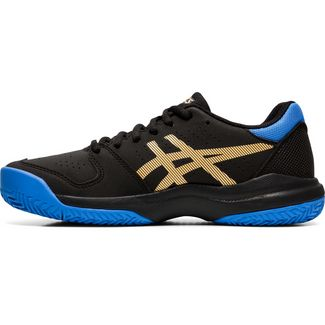 ASICS GEL-GAME GS CLAY Tennisschuhe Kinder black-champagne