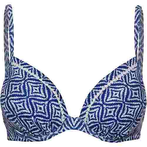 watercult Bikini Oberteil Damen white-indigo