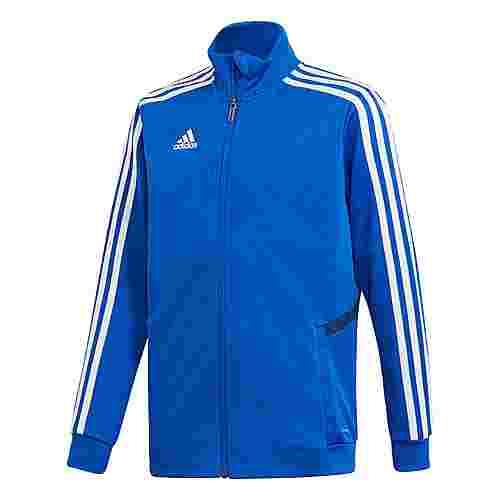 adidas Tiro 19 Trainingsjacke Trainingsjacke Kinder Bold Blue / Dark Blue / White