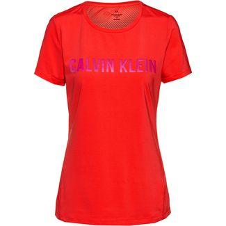 Calvin Klein Statement Funktionsshirt Damen flashing red