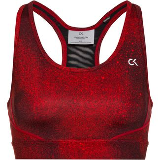Calvin Klein Galaxy Sport-BH Damen ck black-flashing red
