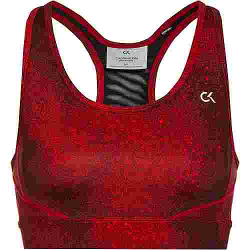 Calvin Klein Galaxy BH Damen ck black-flashing red