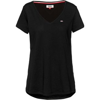 Tommy Jeans V-Shirt Damen tommy black