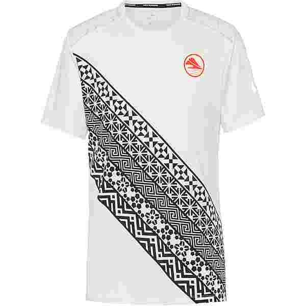 Nike Dry Fit Miler Funktionsshirt Herren summit white-hyper crimson