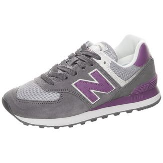 NEW BALANCE WL574-B Sneaker Damen grau / lila