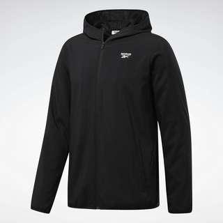 Reebok Training Essentials Jacket Trainingsjacke Herren Schwarz
