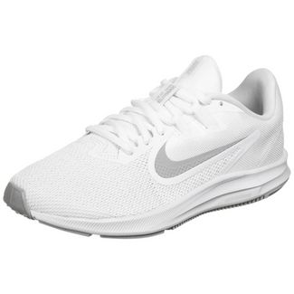 Nike Downshifter 9 Laufschuhe Damen weiß / grau
