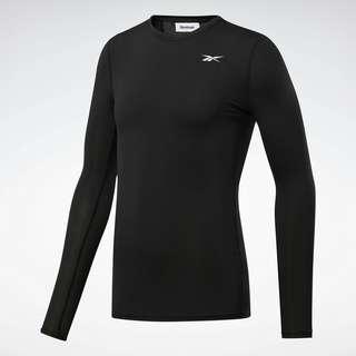 Reebok Workout Ready Compression T-Shirt Funktionsshirt Herren Schwarz