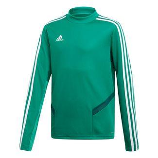adidas Sweatshirt Kinder Bold Green / White