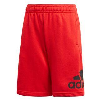 adidas Must Haves Badge of Sport Shorts Funktionsshorts Kinder Vivid Red / Black