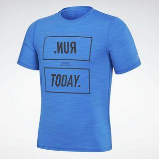 Reebok T-Shirt Herren Blau