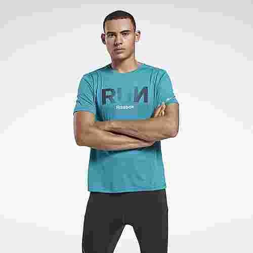 Reebok T-Shirt Herren Türkis