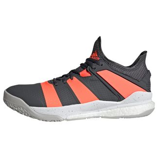 adidas Volleyballschuhe Herren Grey Six / Signal Coral / Grey Two