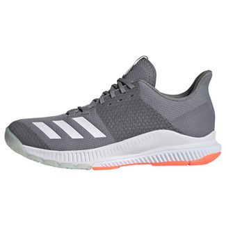 adidas Crazyflight Bounce 3 Schuh Sneaker Damen Grey Three / Cloud White / Signal Coral