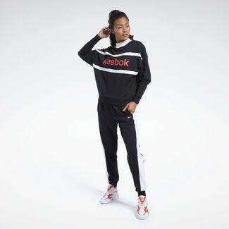 Reebok Trainingsanzug Damen Schwarz