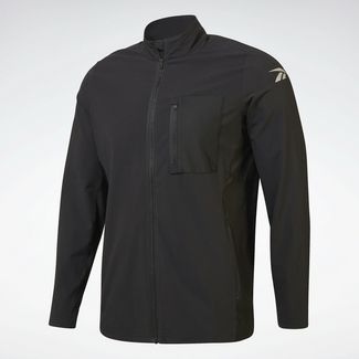 Reebok One Series Running Hero Jacket Trainingsjacke Herren Schwarz