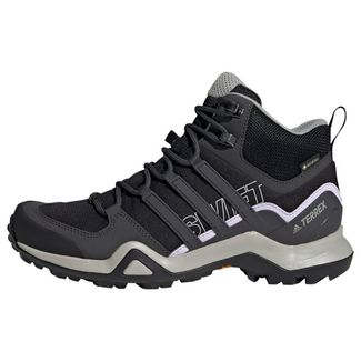 adidas Wanderschuhe Damen Core Black / Solid Grey / Purple Tint