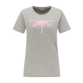 Petrol Industries T-Shirt Damen Light Grey Melee