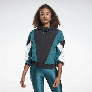 Reebok Studio High Intensity Cover-Up Funktionssweatshirt Damen Türkis