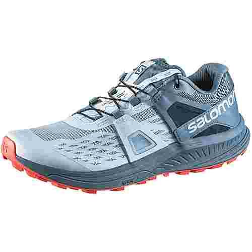 Salomon Ultra Pro Trailrunning Schuhe Damen cashmere blue-bluestone-dubarry