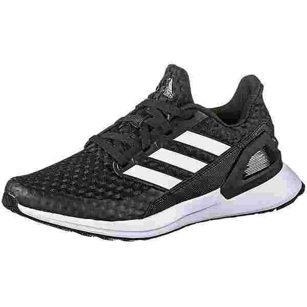 adidas RapidaRun Laufschuhe Kinder core black