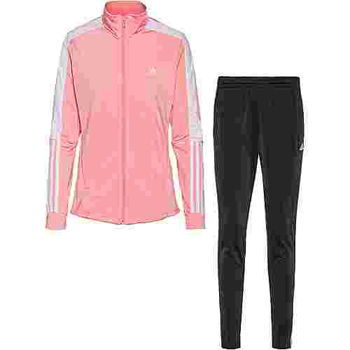 adidas Trainingsanzug Damen glory pink-black