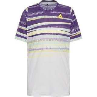 adidas H.RDY Tennisshirt Herren white-shock yellow