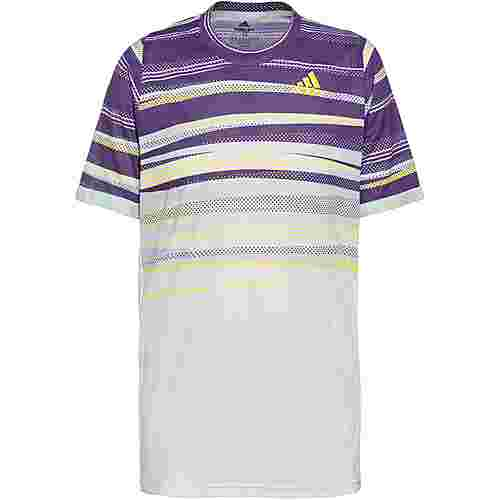 adidas H.RDY Tennisshirt Herren white-shock yellow