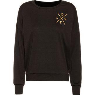 Onzie Yoga Sweatshirt Damen love gold