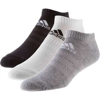 adidas CUSH LOW 3PP Socken Pack Kinder medium grey heather