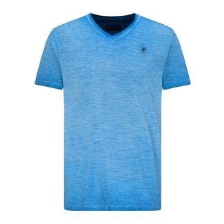 Petrol Industries Printshirt Herren Electric Blue